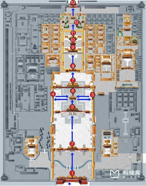 北京旅游路线图 故宫游览需要多长时间