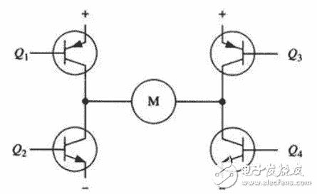 图只是示意图,而不是完整的电路图,其中三极管的驱动电路没有画出来).